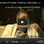 Unitary Perception, Ruben Feldman-Gonzalez