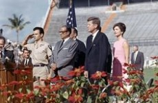President Kennedy Addresses Bridgade 2506