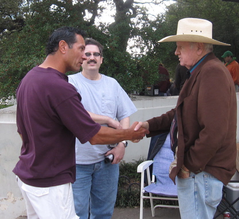 Greg Burnham meeting James Tague for the first time (November 22, 2010)