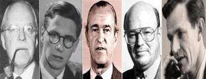 Allen Dulles, Cord Meyer, Richard Helms, Frank Wisner, Philip Graham
