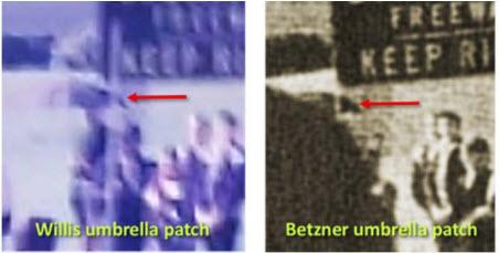 Willis Betzner Umbrella Patch