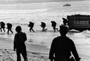 First US Combat Troops Marines Land in Danang